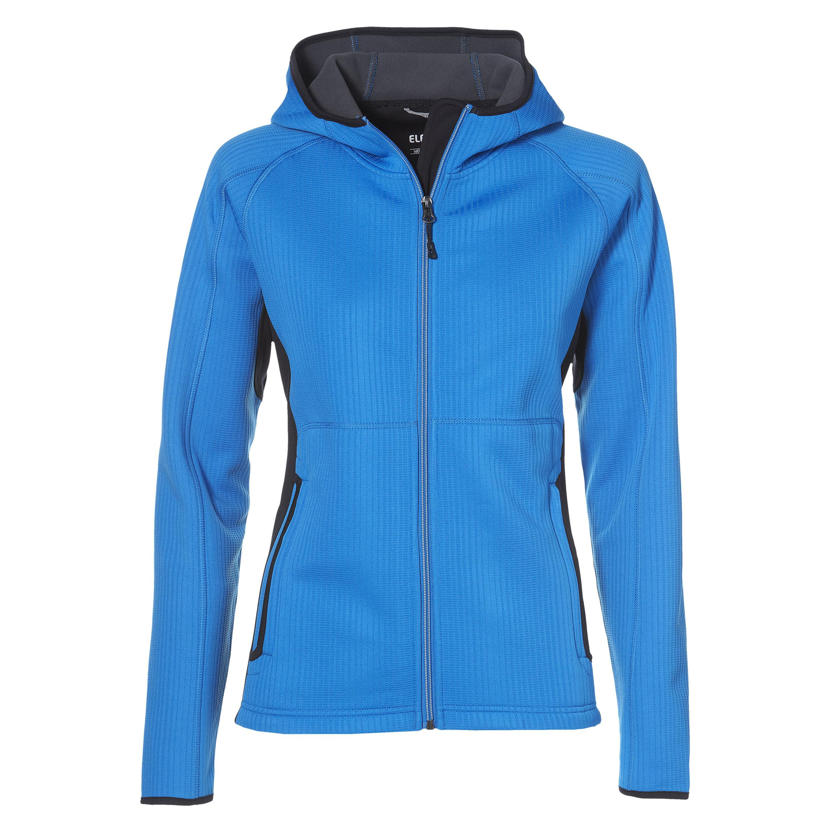 Ladies Ferno Bonded Knit Jacket - Blue Only