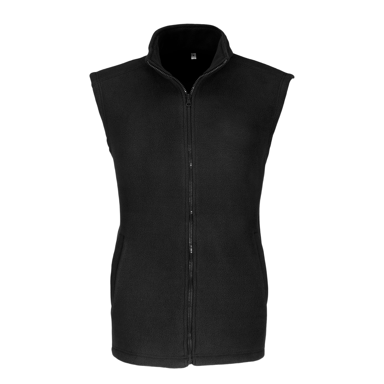 Mens Yukon Micro Fleece Bodywarmer - Black Only