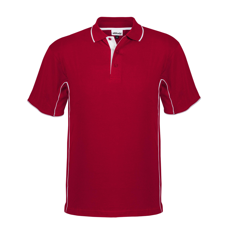 Mens Denver Golf Shirt - Red Only