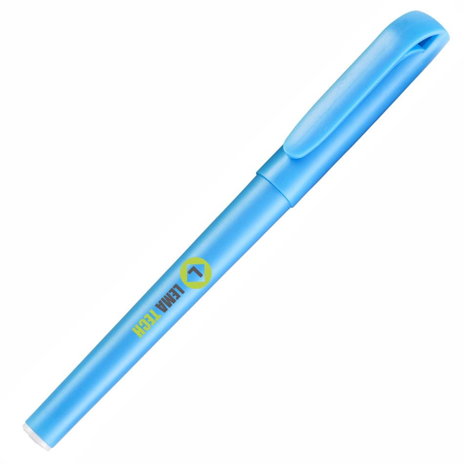 Smooth Gel Pen - Cyan Only