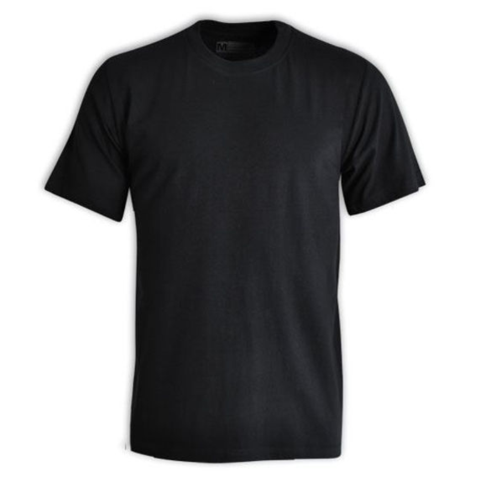 145g Promo T-shirt - Black - While Stocks Last