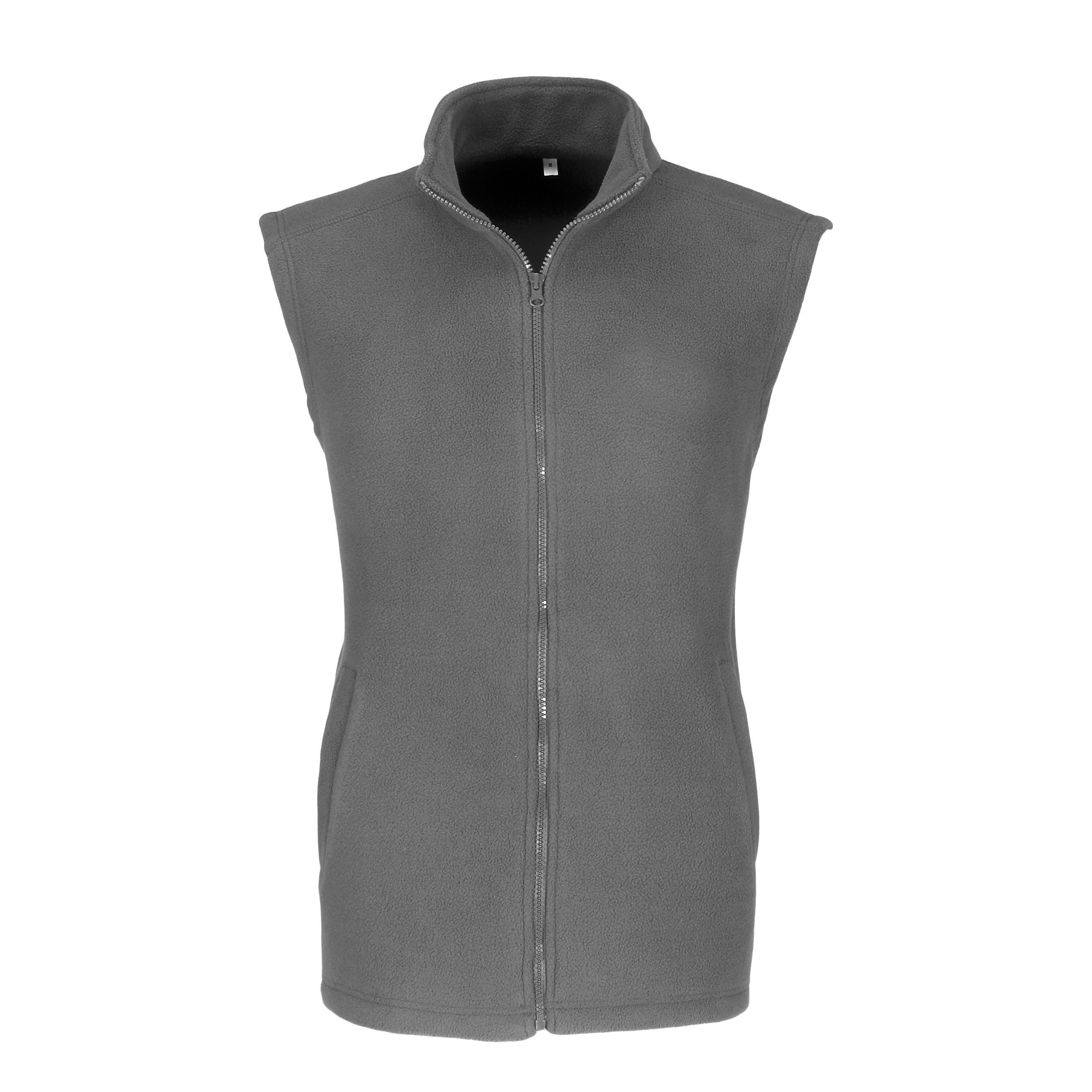 Mens Yukon Micro Fleece Bodywarmer - Grey Only