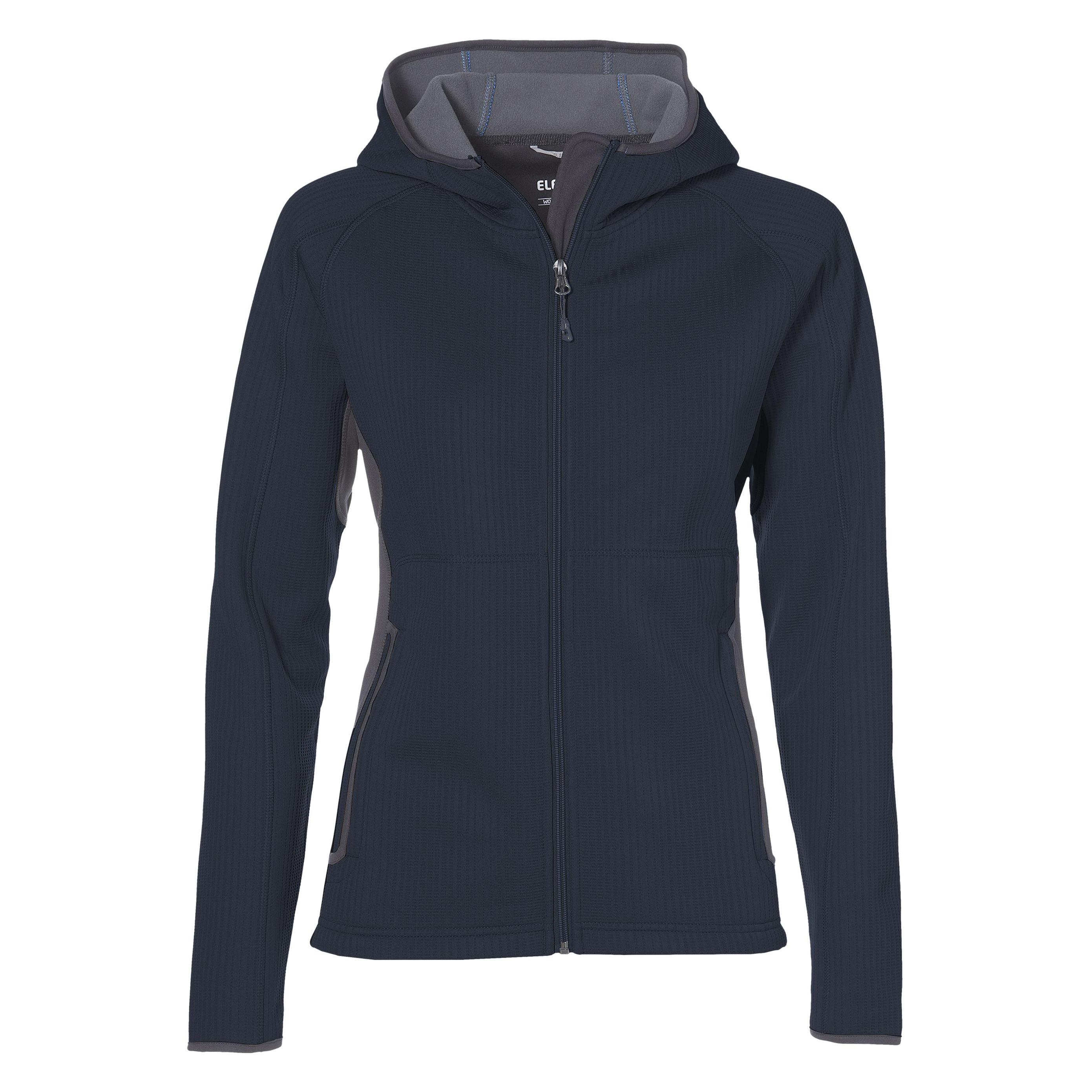 Ladies Ferno Bonded Knit Jacket - Navy Only