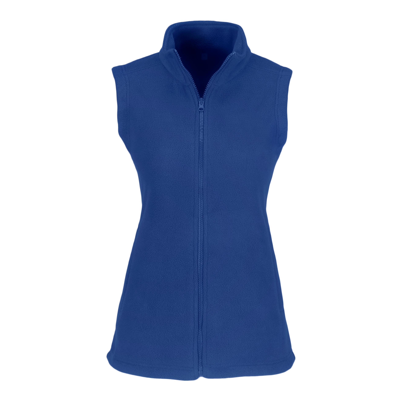 Ladies Yukon Micro Fleece Bodywarmer - Blue Only