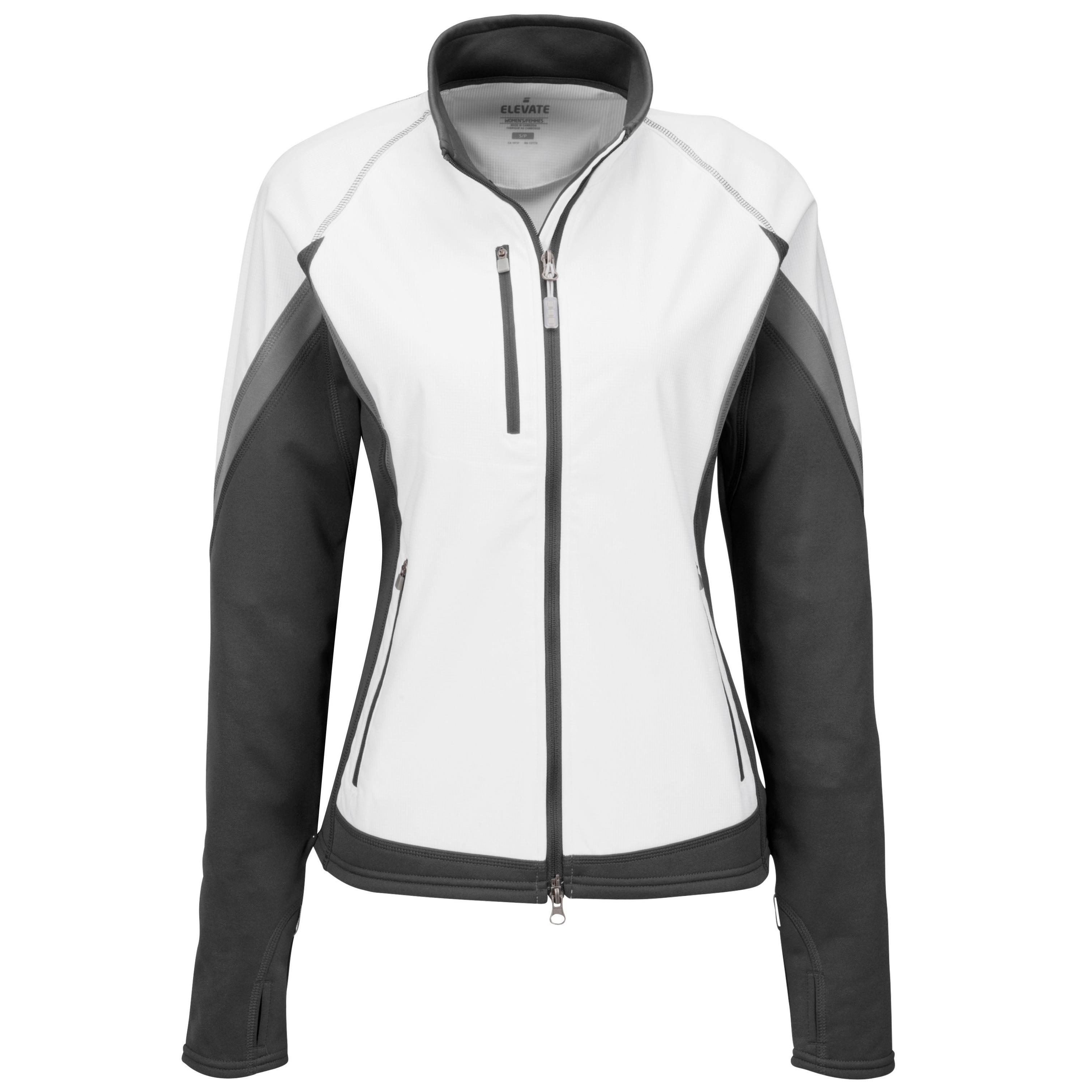Ladies Jozani Hybrid Softshell Jacket - White Only