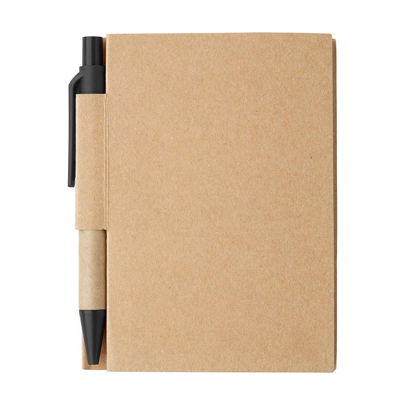 Bf6419 - Mini Recycled Notebook And Pen