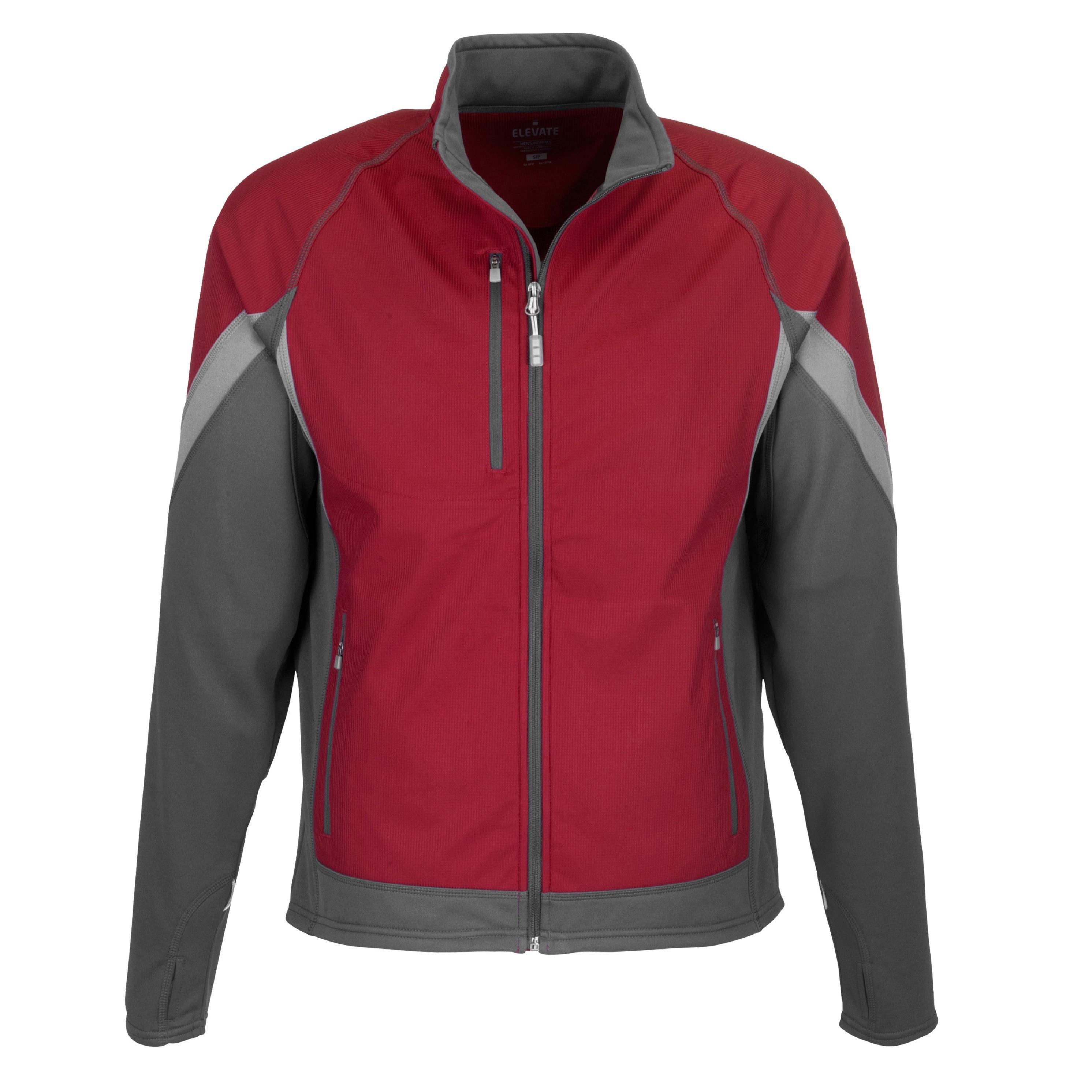 Mens Jozani Hybrid Softshell Jacket - Red Only