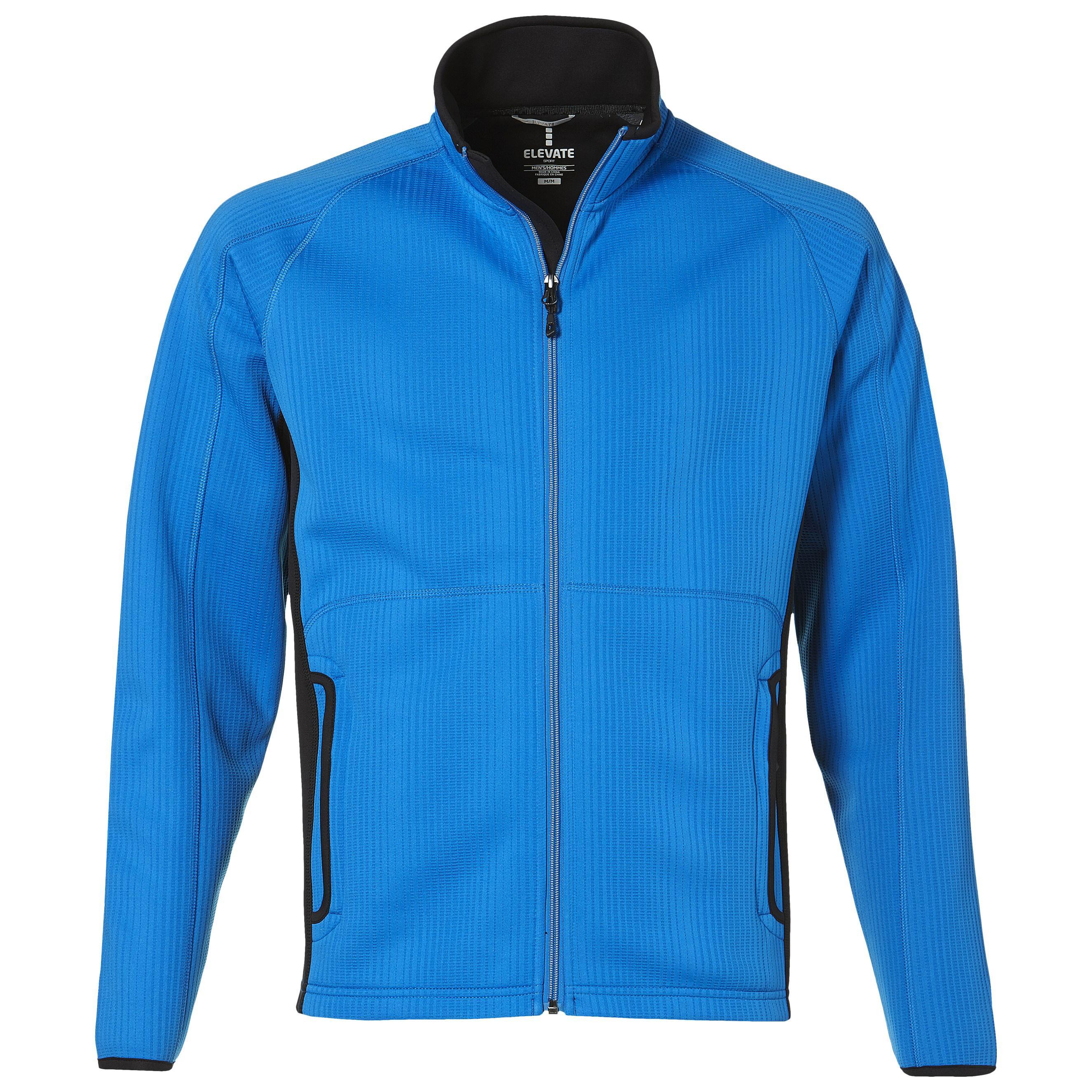 Mens Ferno Bonded Knit Jacket - Blue Only