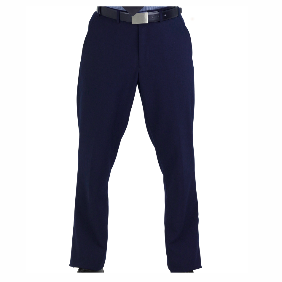 Jennings Mens Flat Front Pants - Navy Only