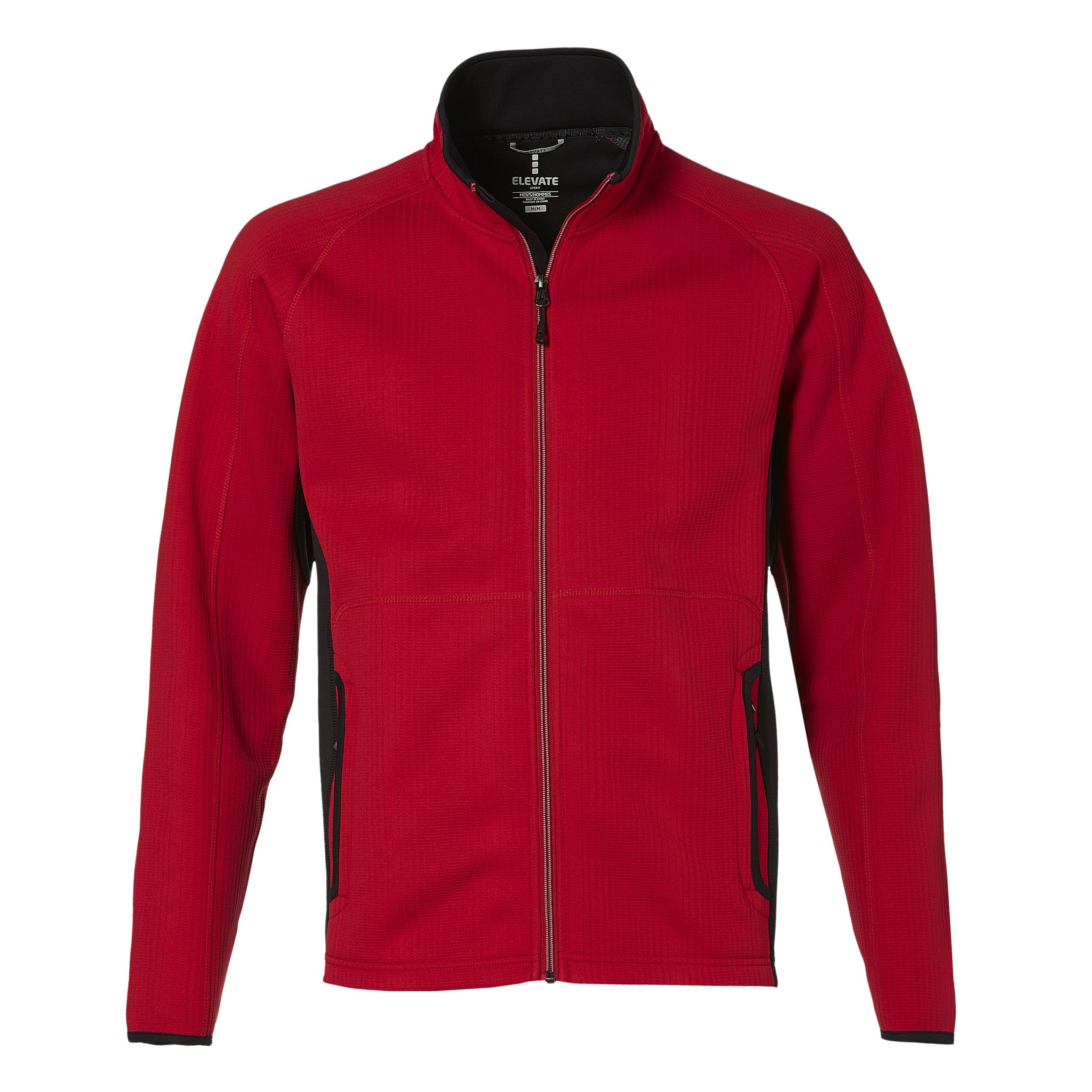 Mens Ferno Bonded Knit Jacket - Red Only