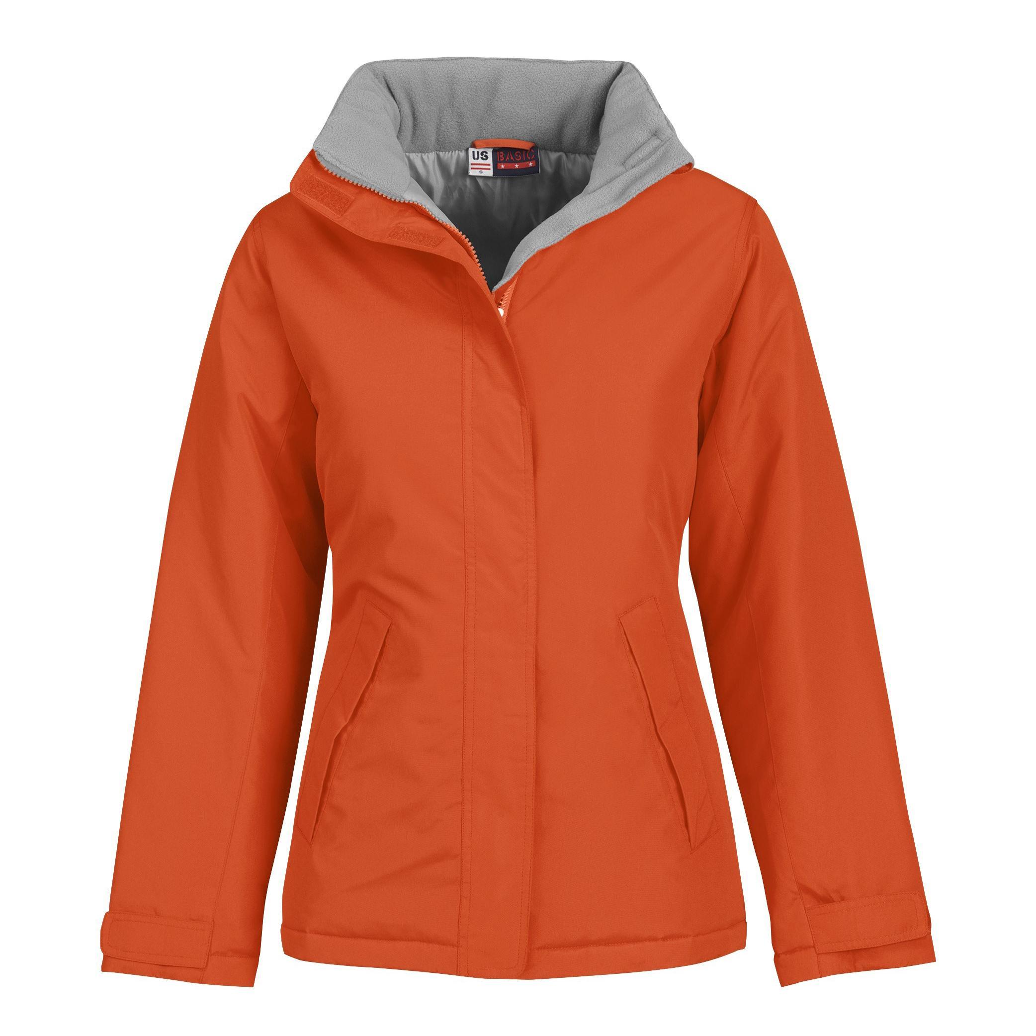 Ladies Hastings Parka - Orange Only