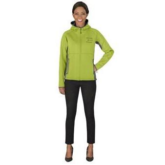 Ladies Ferno Bonded Knit Jacket - Lime Only