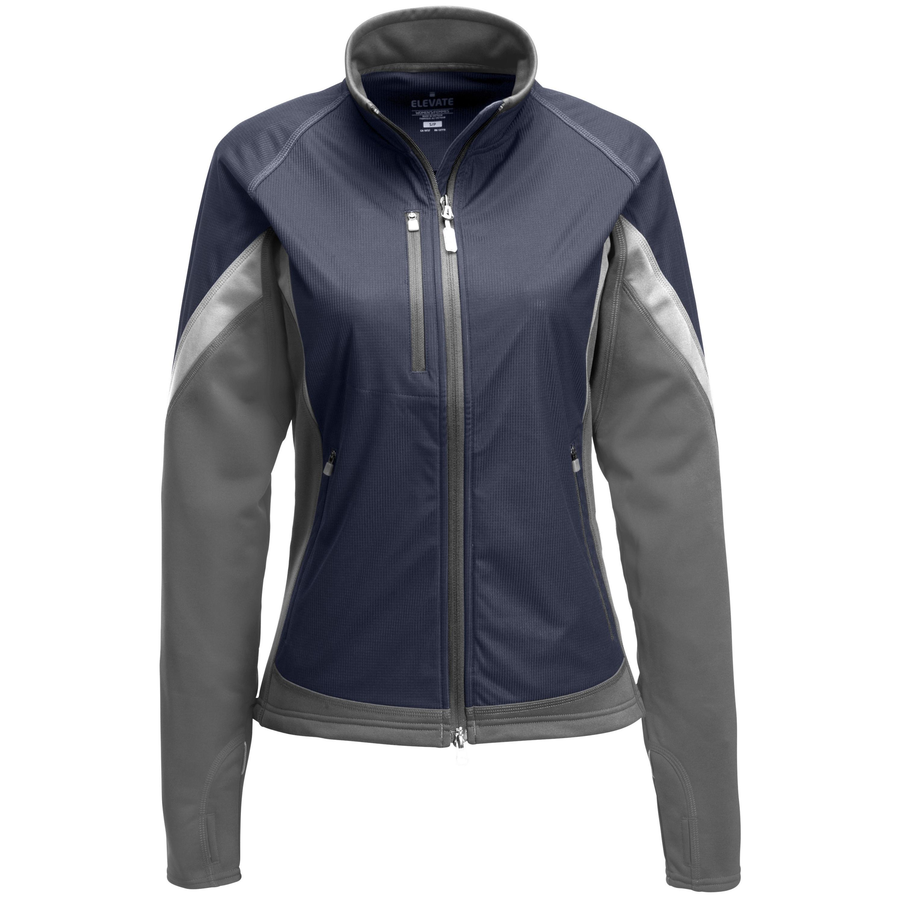 Ladies Jozani Hybrid Softshell Jacket - Navy Only