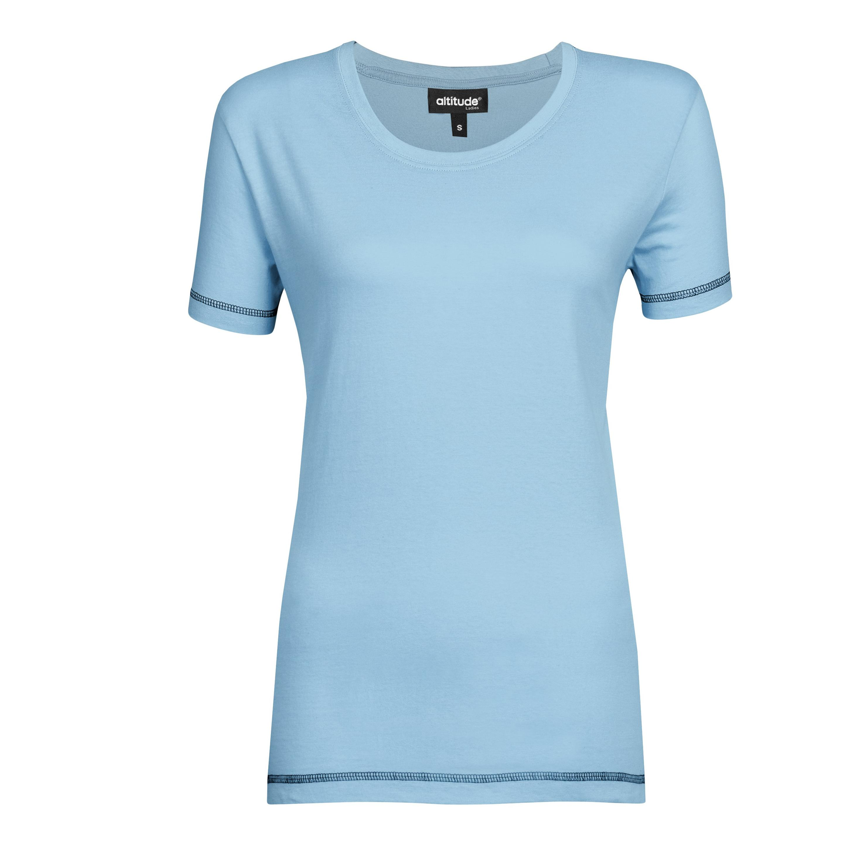 Ladies Velocity T-shirt - Sky Blue Only