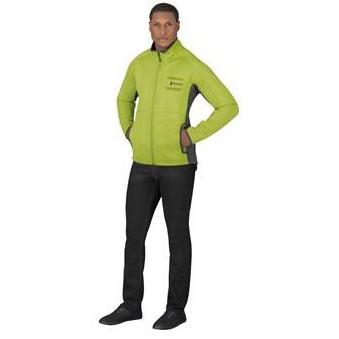 Mens Ferno Bonded Knit Jacket - Lime Only