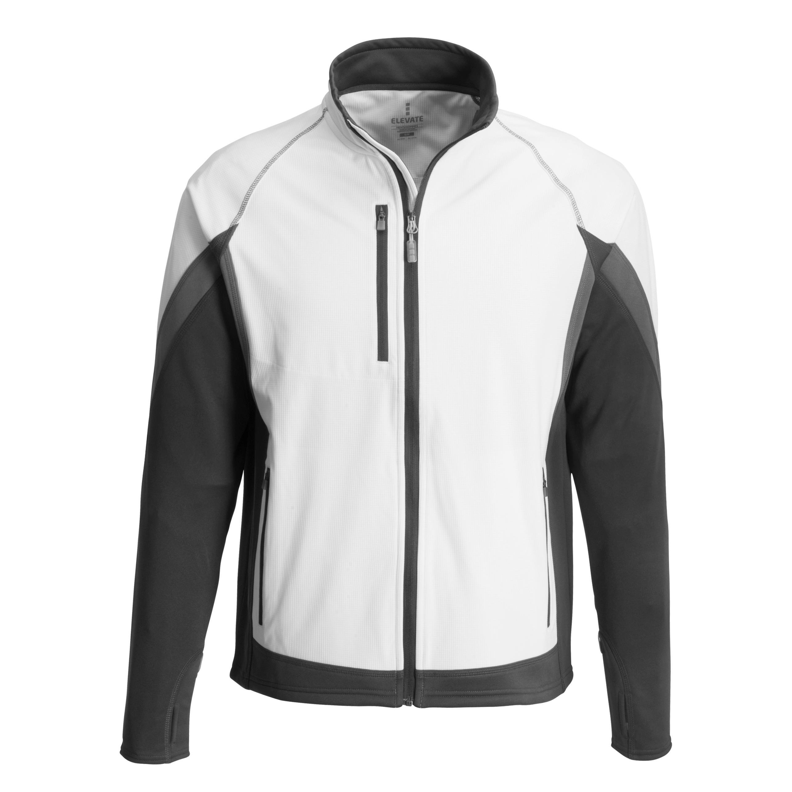 Mens Jozani Hybrid Softshell Jacket - White Only