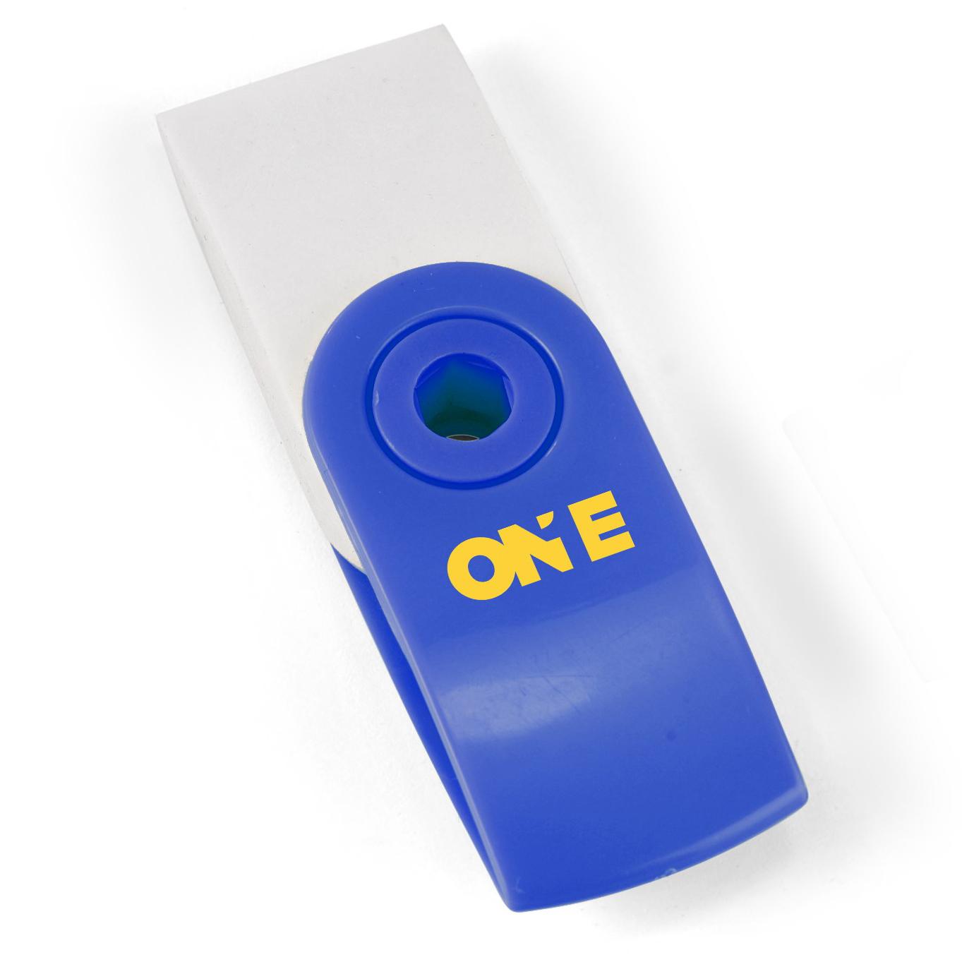 Swirl Eraser - Blue Only