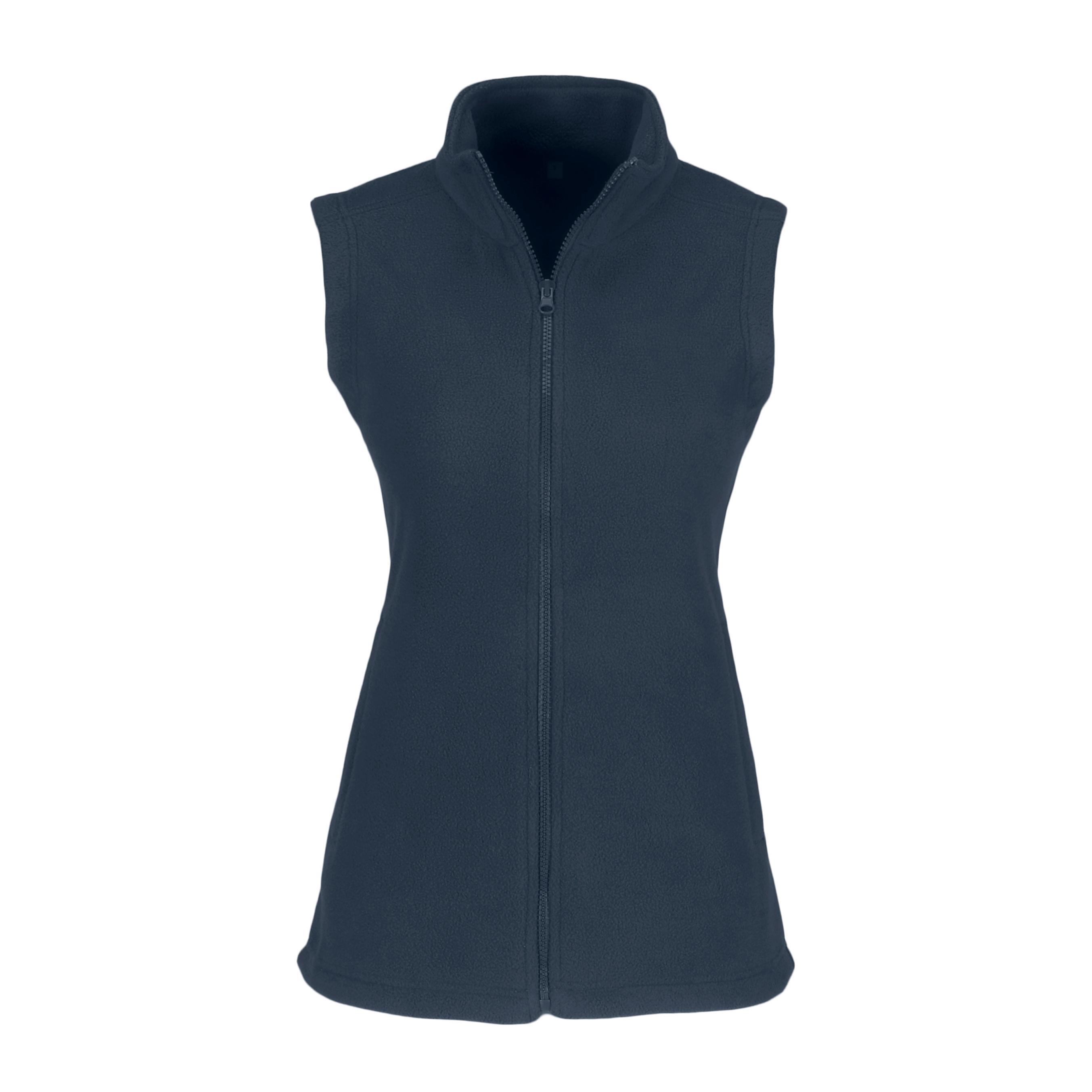 Ladies Yukon Micro Fleece Bodywarmer - Navy Only