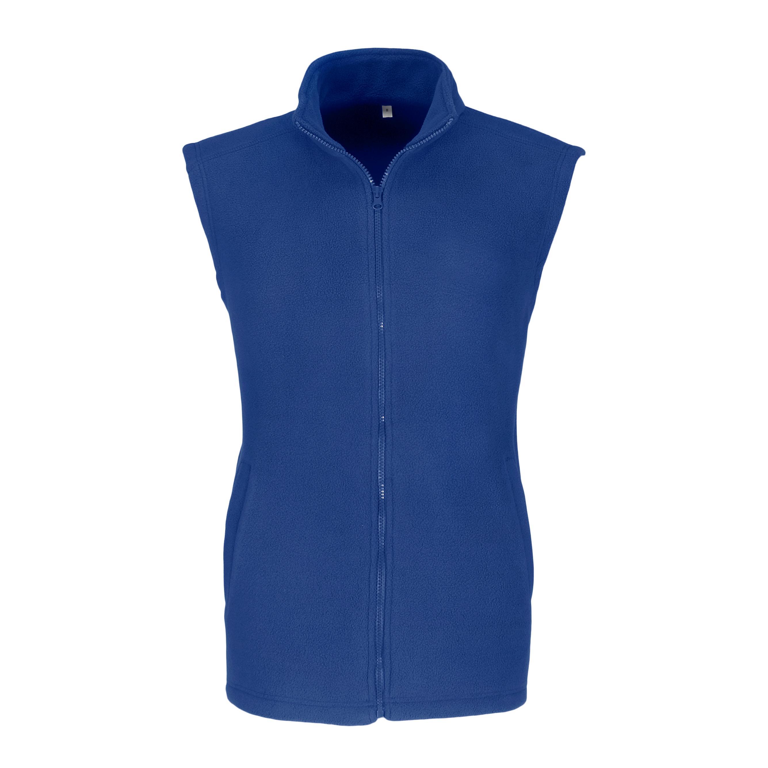 Mens Yukon Micro Fleece Bodywarmer - Blue Only