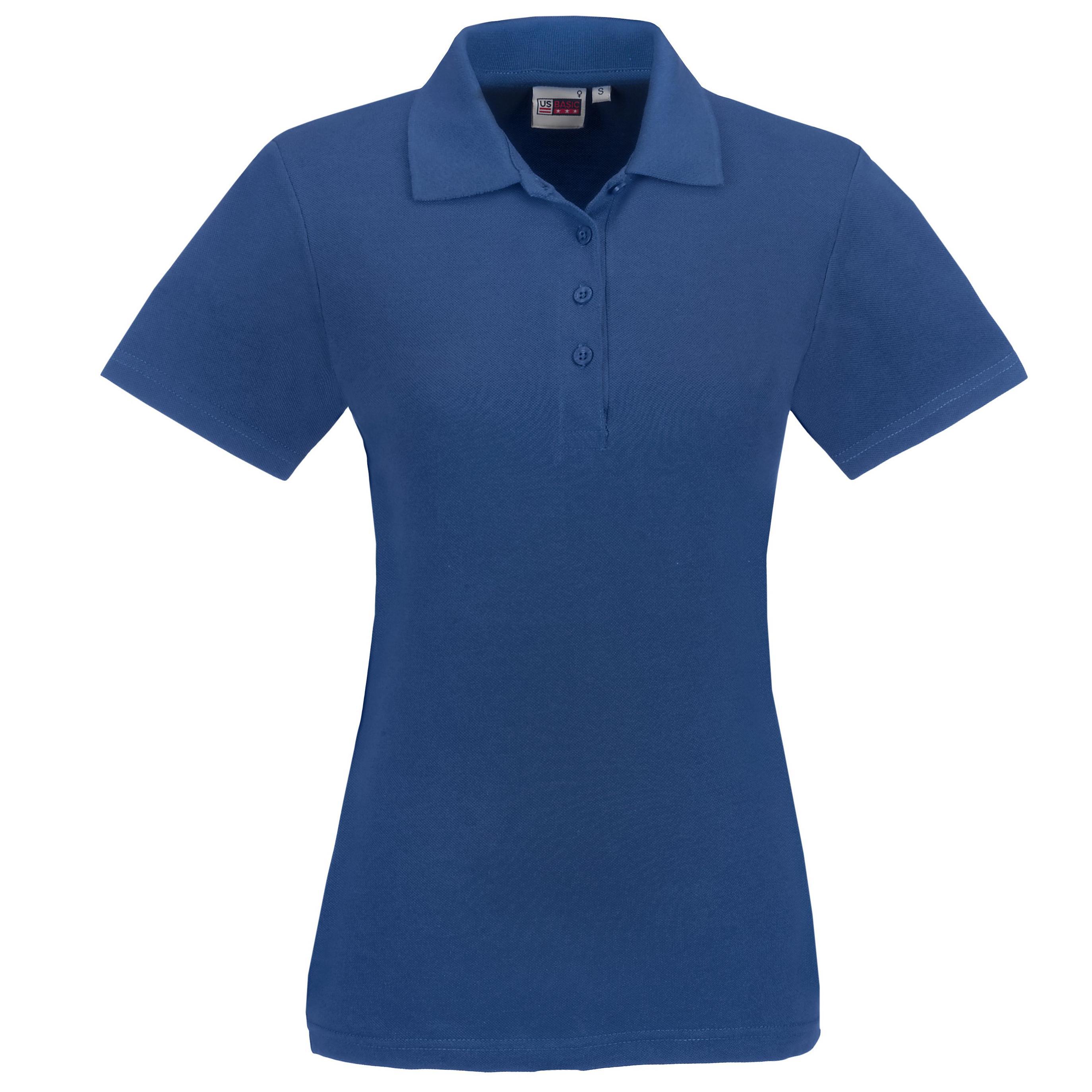 Ladies Elemental Golf Shirt - Royal Blue Only