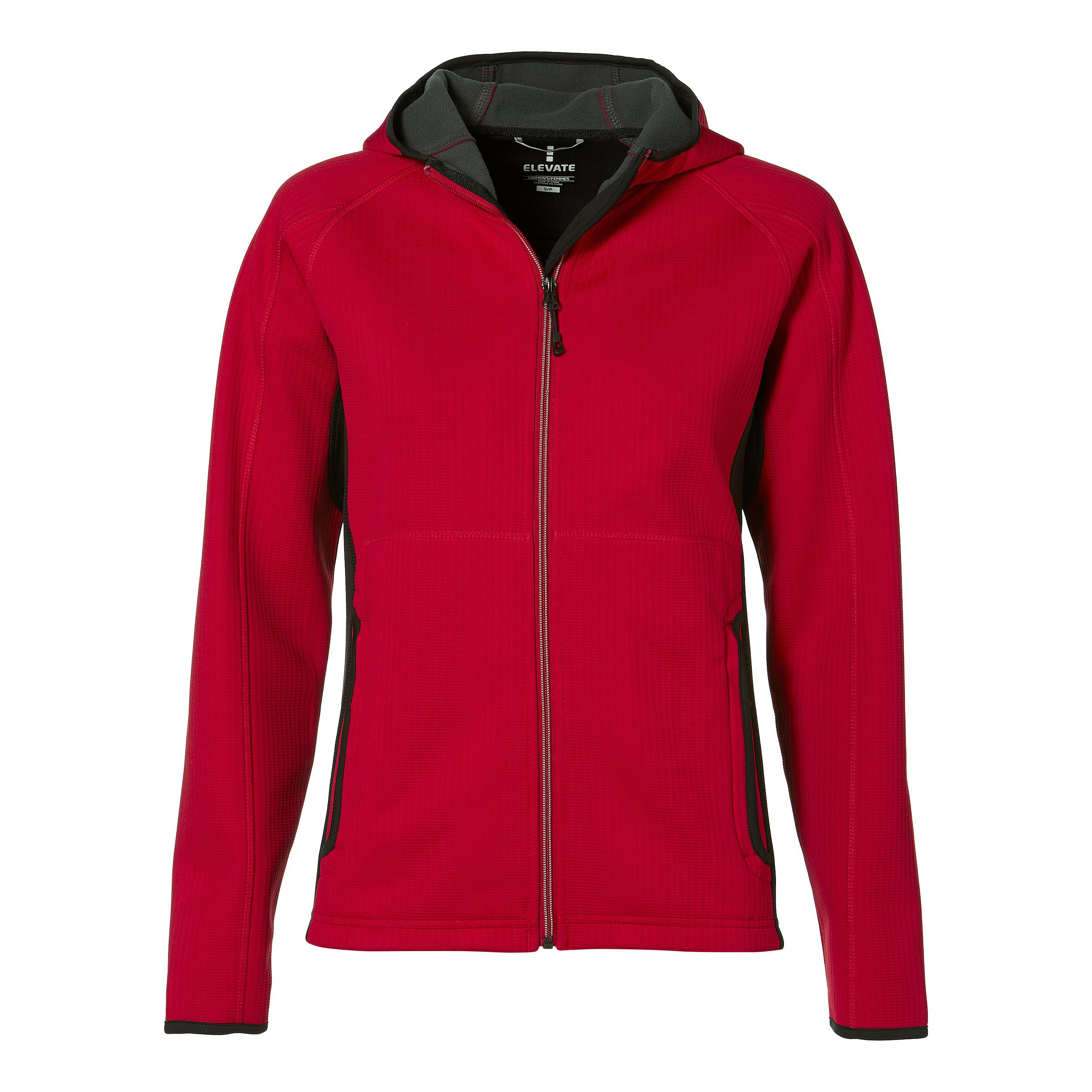 Ladies Ferno Bonded Knit Jacket - Red Only