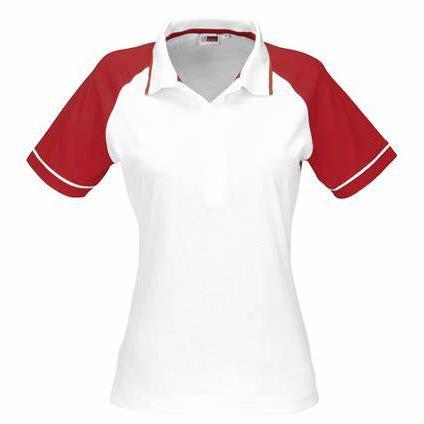 Ladies Sydney Golf Shirt - Red Only
