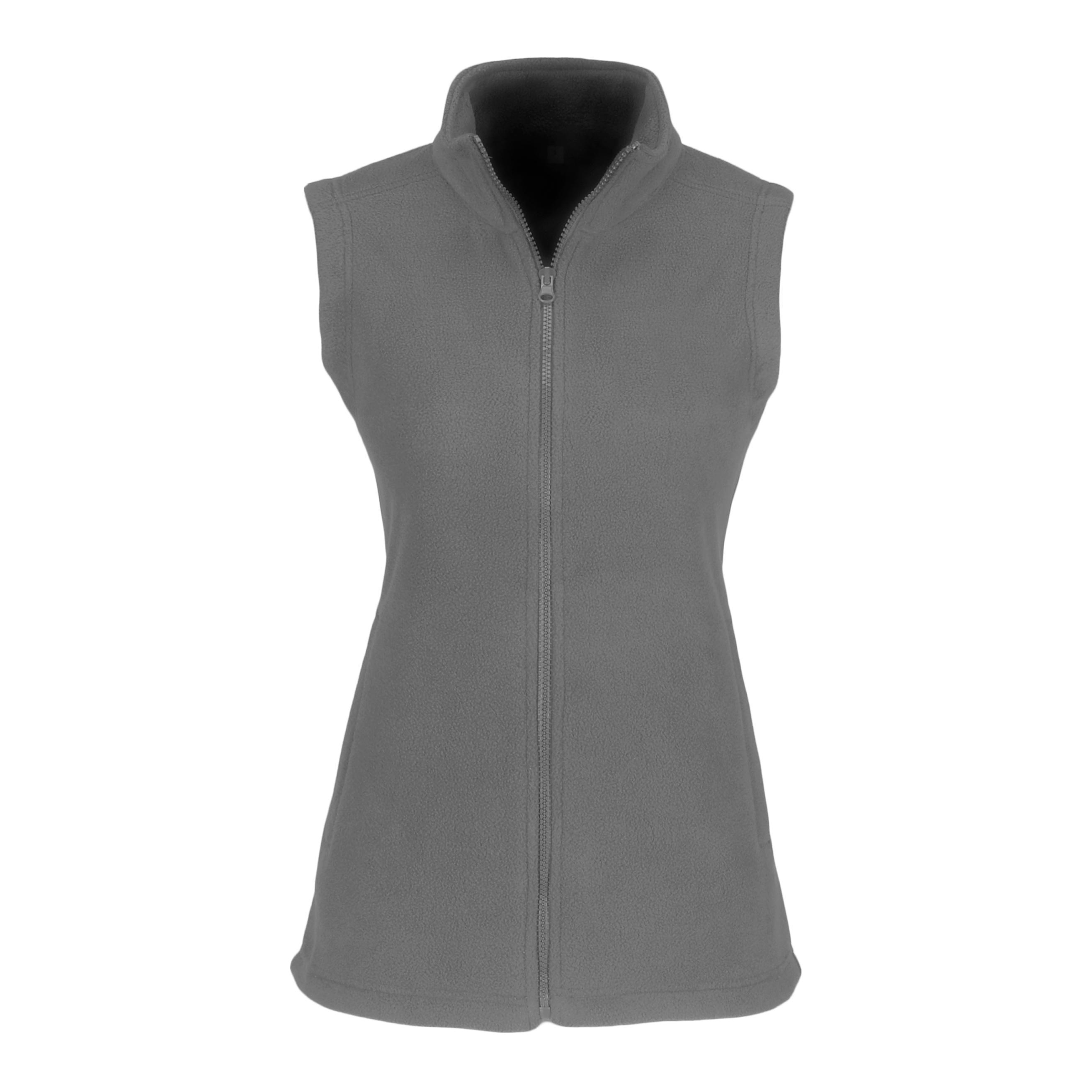 Ladies Yukon Micro Fleece Bodywarmer - Grey Only