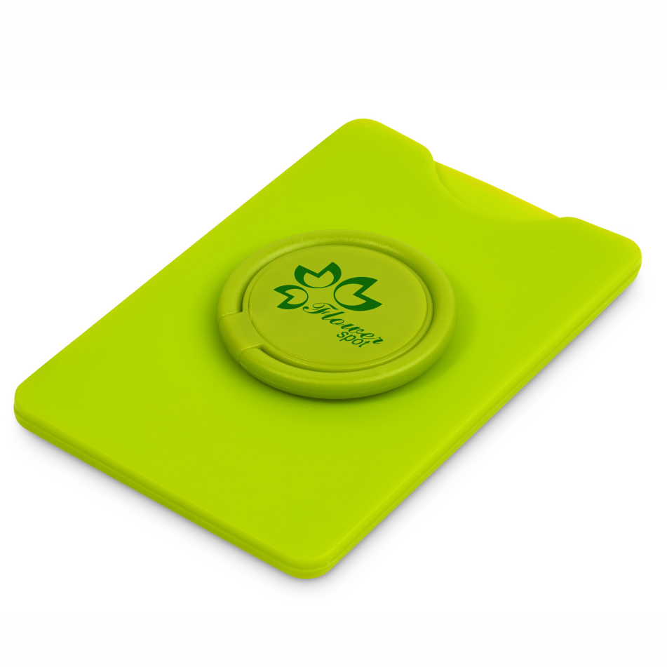 Axial Phone Card Holder - Lime Only