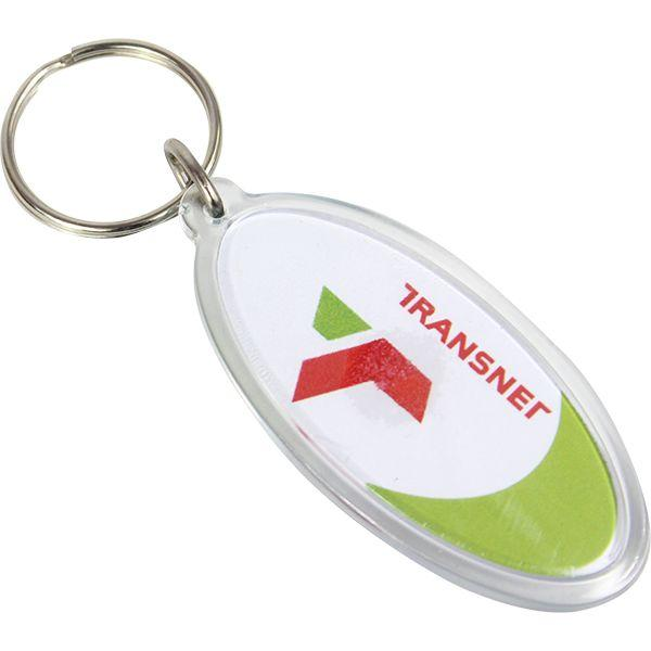 Snap Together Lacuna Oval Keyholder With Fc