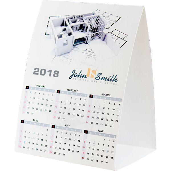 Advertising Tent Calendar With Fc (moq 500)