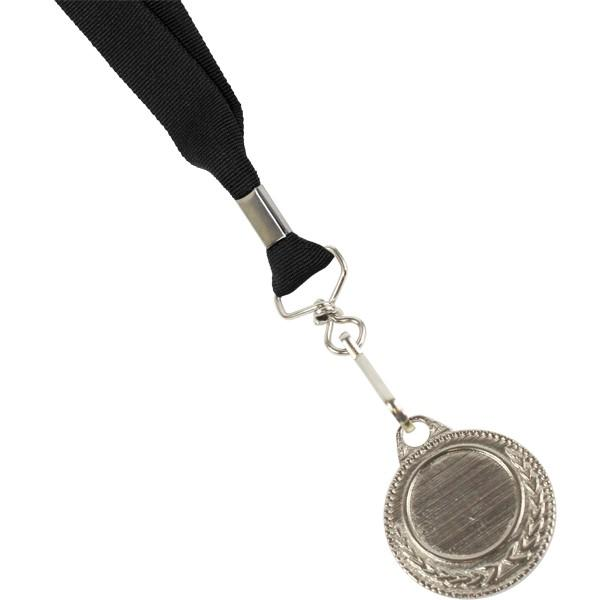 Unbranded Ribbon With Silver Medal