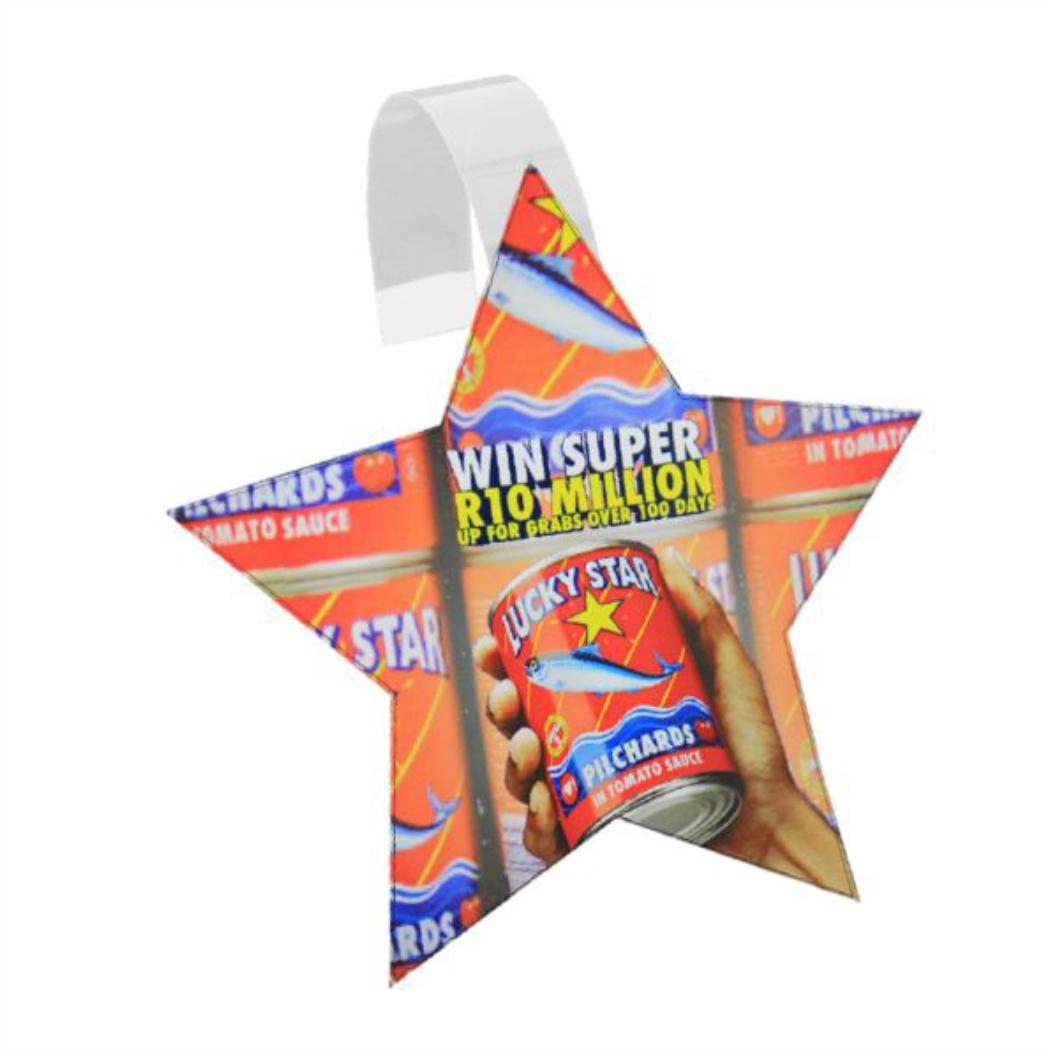 5 Point Star Wobbler With Full Colour