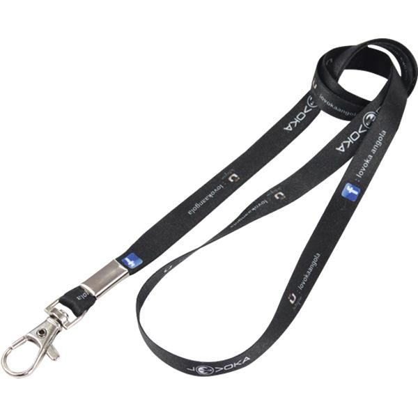 Fc Narrow Lanyard 2 Sided+ Snap With Ful Col