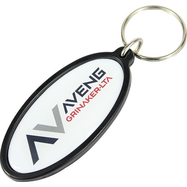 Stellar Oval Key Holder With Dome Fc