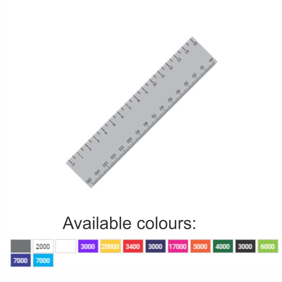 15cm Standard Ruler With 1 Colour Print