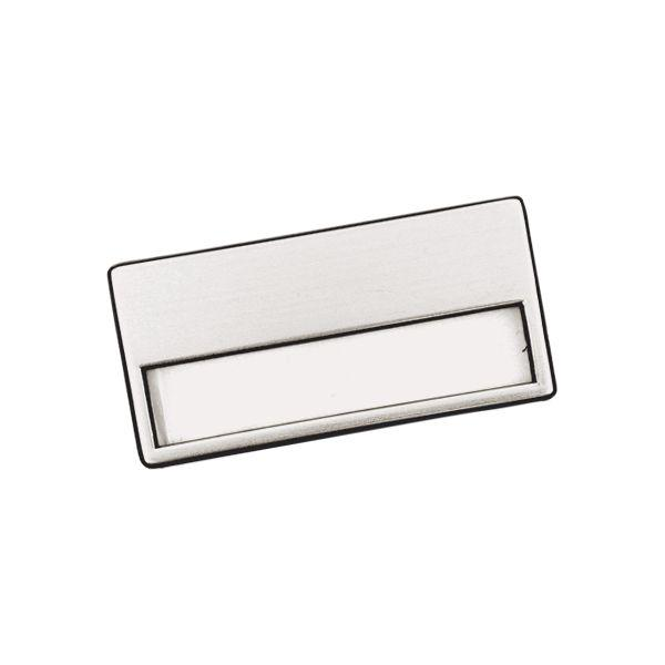 Silver Badge +pin With 1 Colour