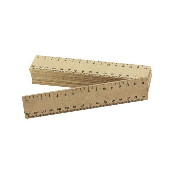 15cm Wooden Ruler With 1 Colour Print