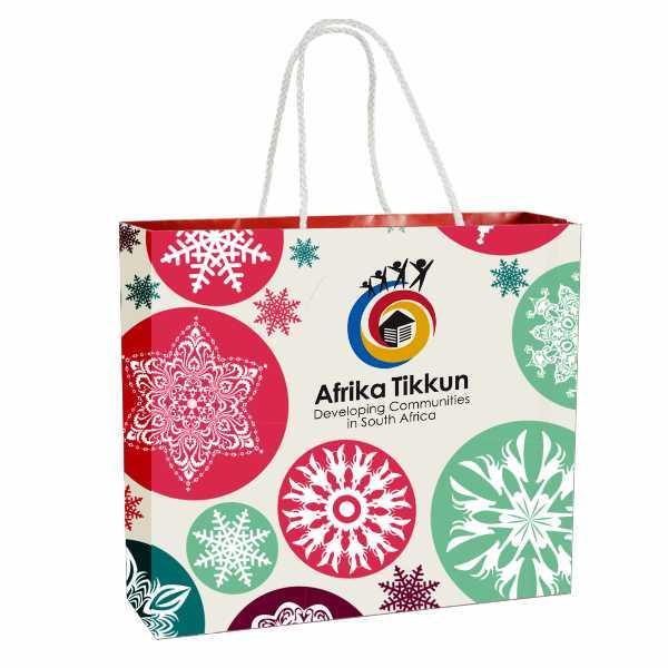 Ziri Gift Bag With Ful Col (moq 500 Units)