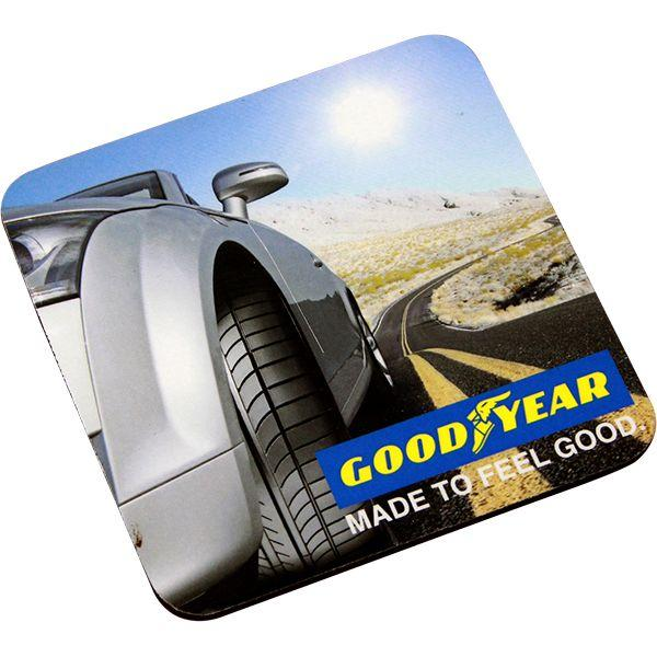Square Foam Coaster With Full Colour