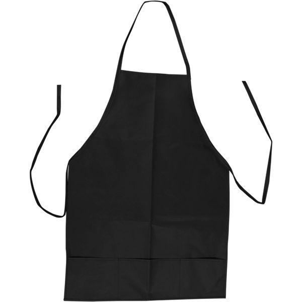 Budget Non Woven Apron With Pocket Wit 1 Col
