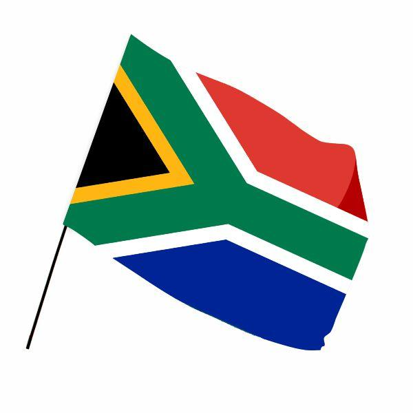 Sa Flag(l) With Full Colour