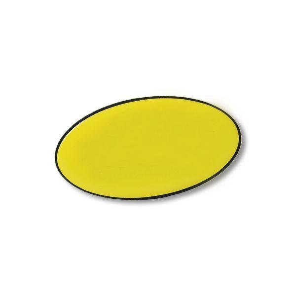 Oval Domed Badge With Magnet