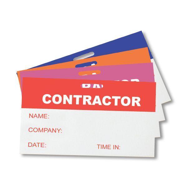 Fc Contractor Badges - All Pantone Colours