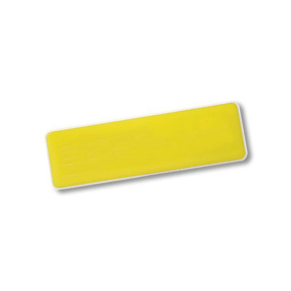 Rectangle Name Badge +magnet With Fc Dome