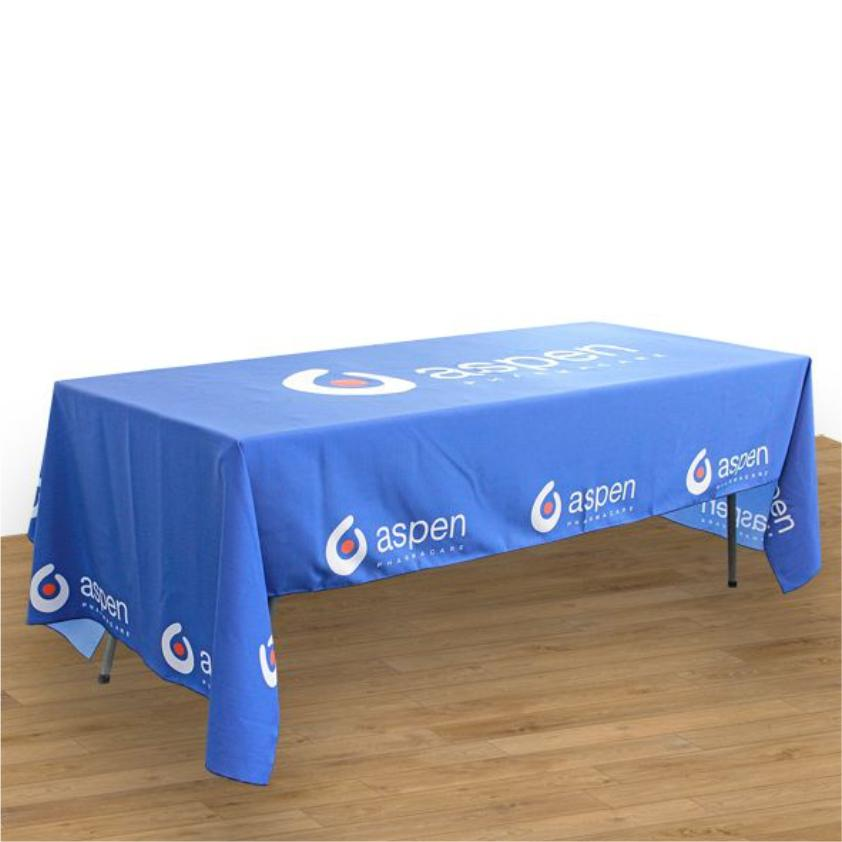 Trestle Tablecloth With Full Colour