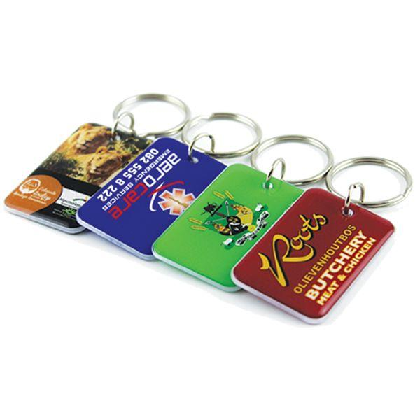 Rectangle Plexi Key Holder With Full Colour