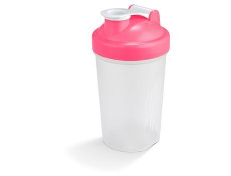 Sports & Wellness   Shake & Burn Protein Shaker - 400ml - 5