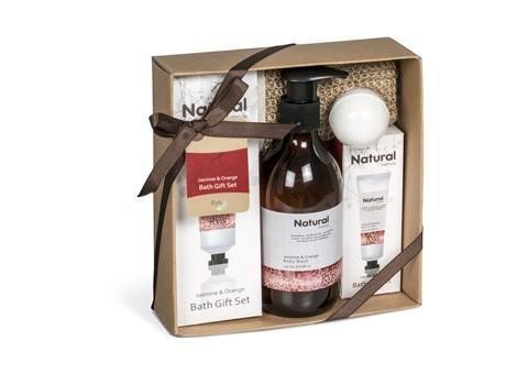 Ryis Jasmine & Orange Bath Gift Set