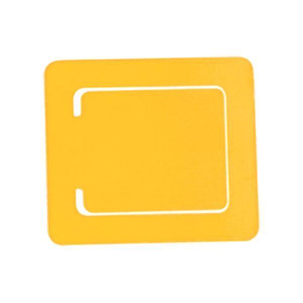Plastic Bookmark With 1 Colour Print-