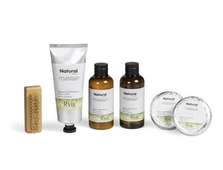 Ryis Peppermint & Rosemary Bath Gift Set